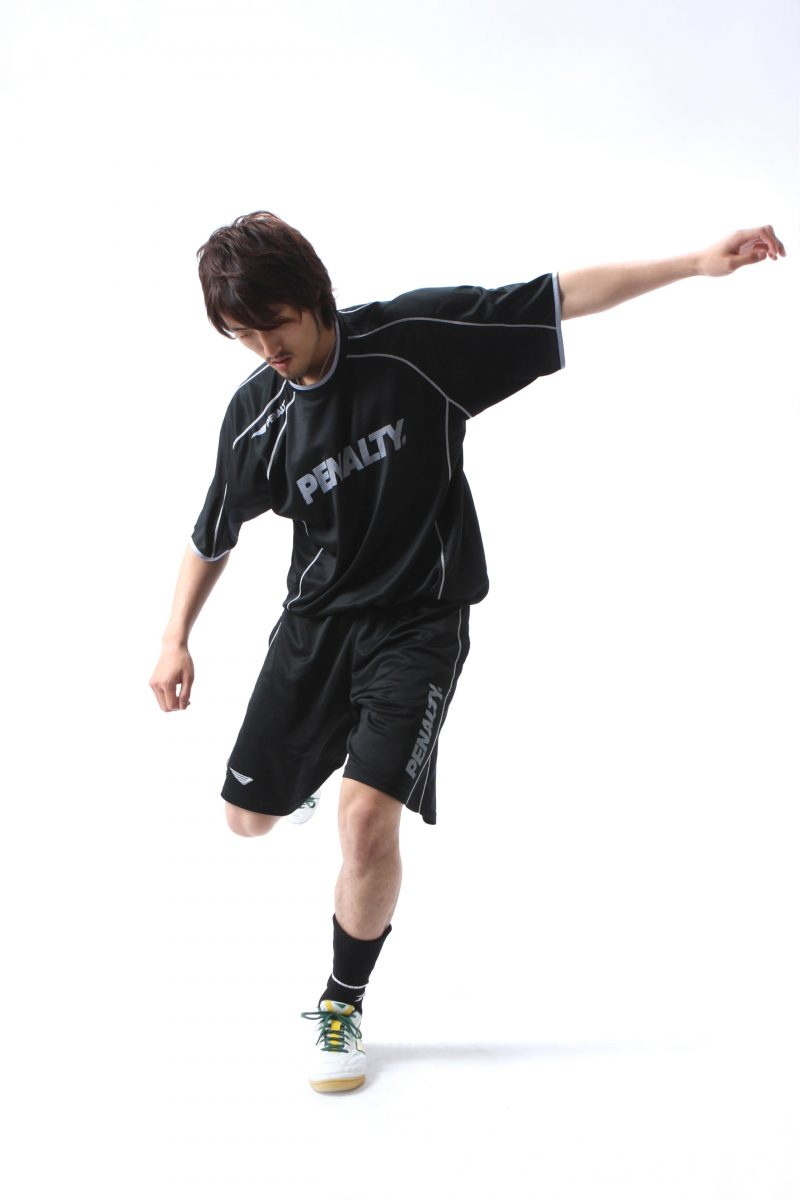 サッカー選手のポートレート撮影 プロフィール写真