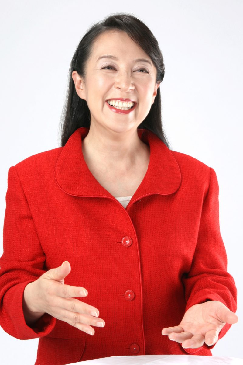 女性ポートレート写真 プロフィール撮影