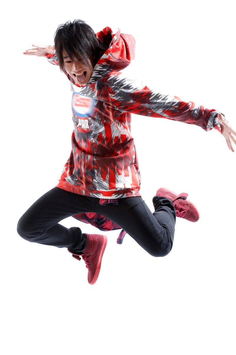 男性ダンサーのプロフィール撮影 プロフィール写真