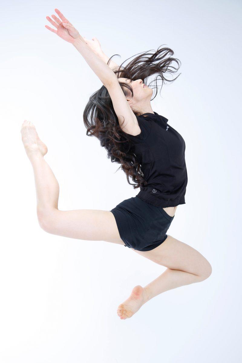 ダンサーのポートレート撮影 プロフィール写真