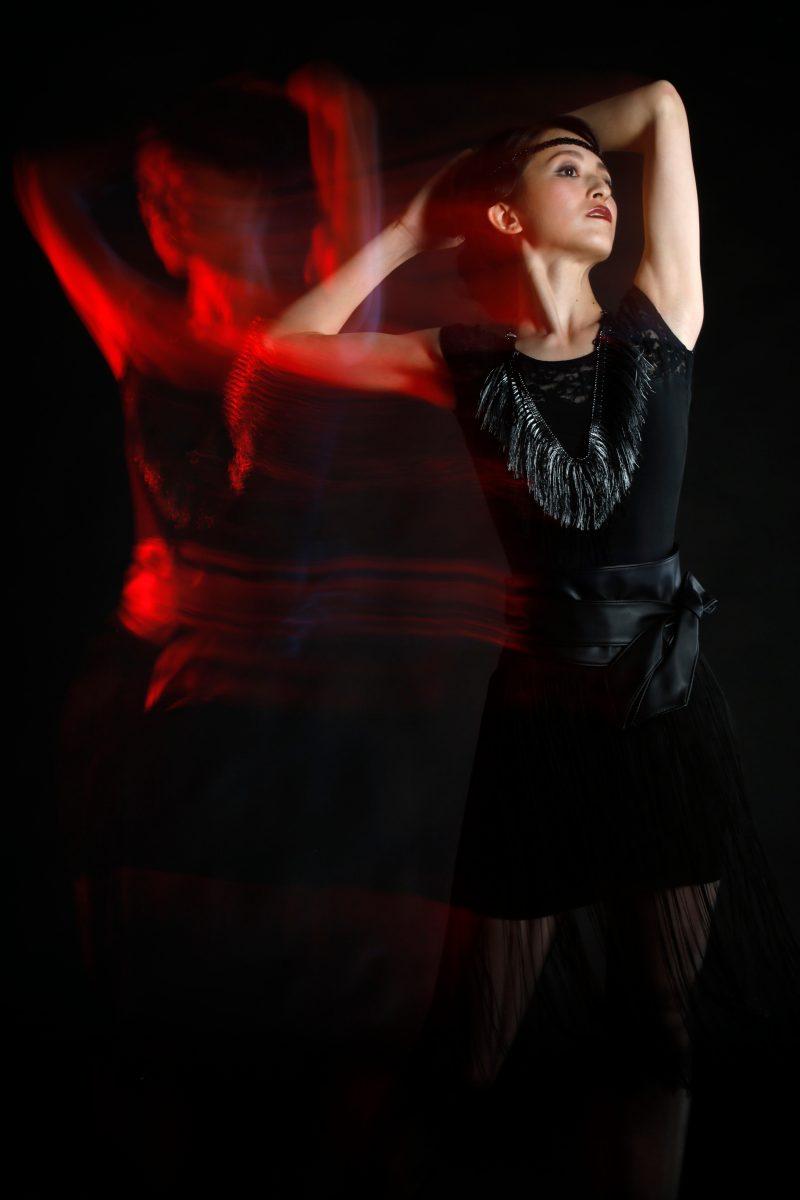 Newダンサーフォト  作品性を高めたプロフィール写真です スタジオ撮影