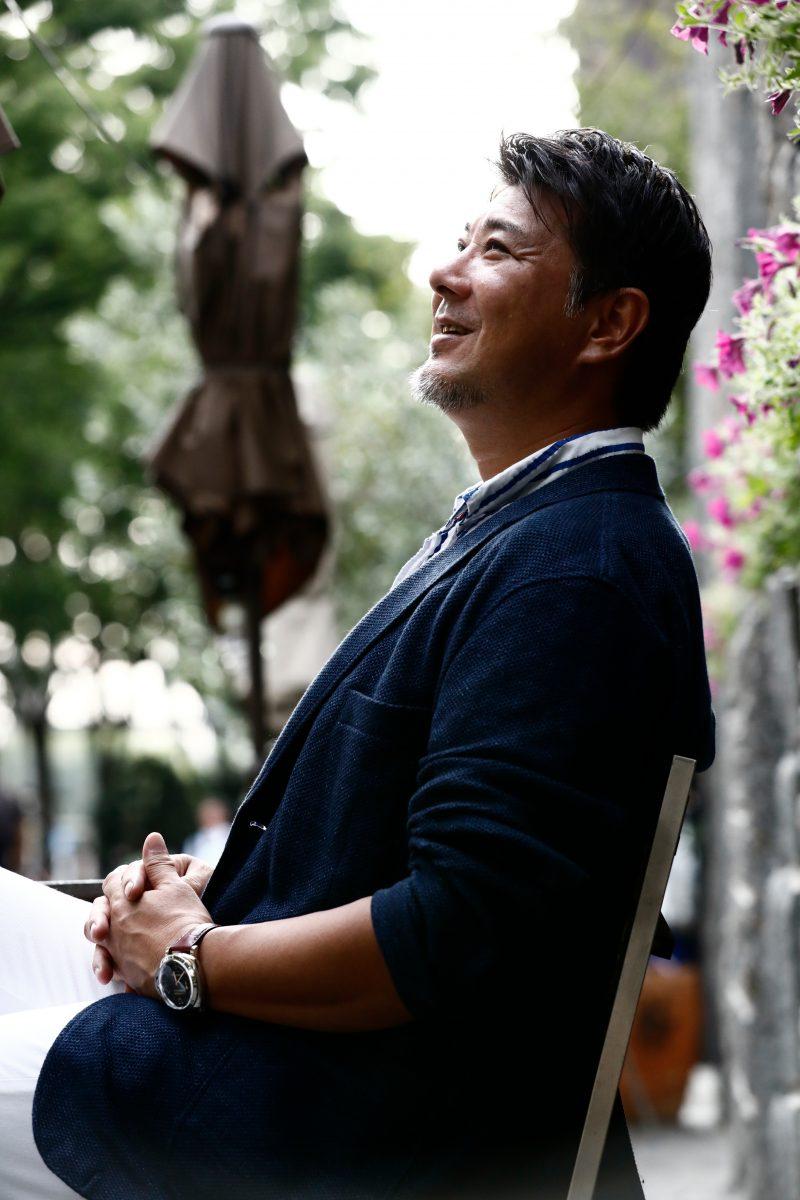 メンズON・OFF 男性ポートレート撮影 ロケフォト