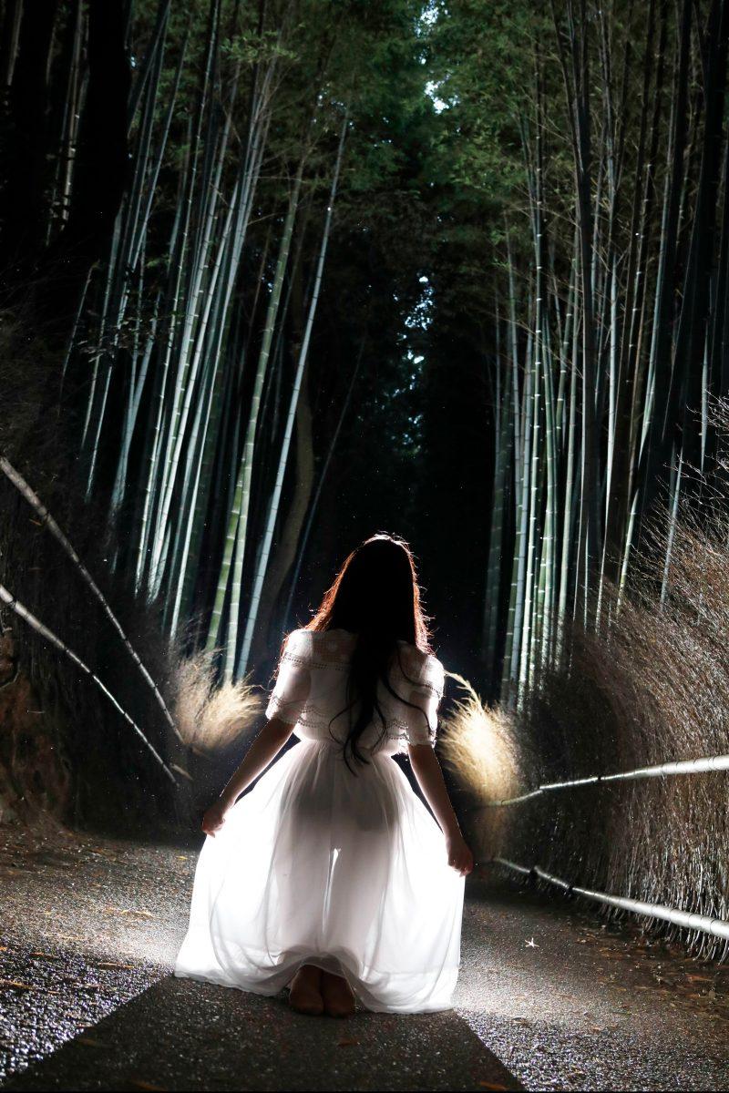 Newダンサーフォト ダンサーのプロフィール写真 ロケフォト 逆光が美しい
