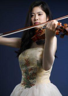 今日はヴァイオリン