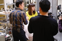 テレ東「なないろ日和!」で内匠が変身メイクを披露