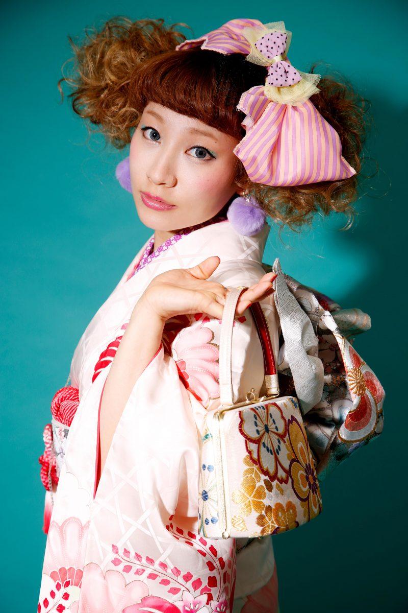 サロンアーティスト 土田の作品 着物 和装