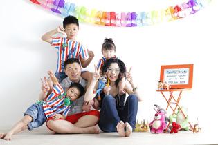 家族写真☆