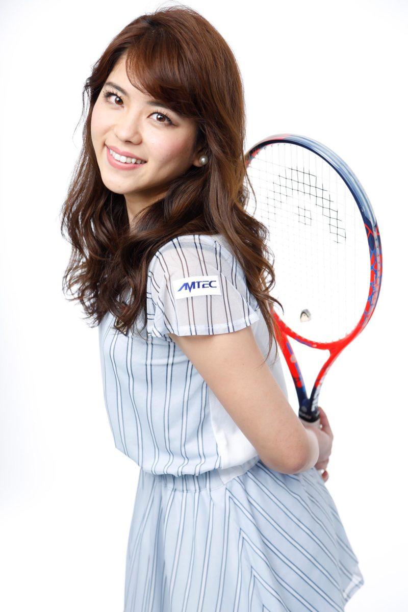 プロフィール写真 テニスプレーヤー