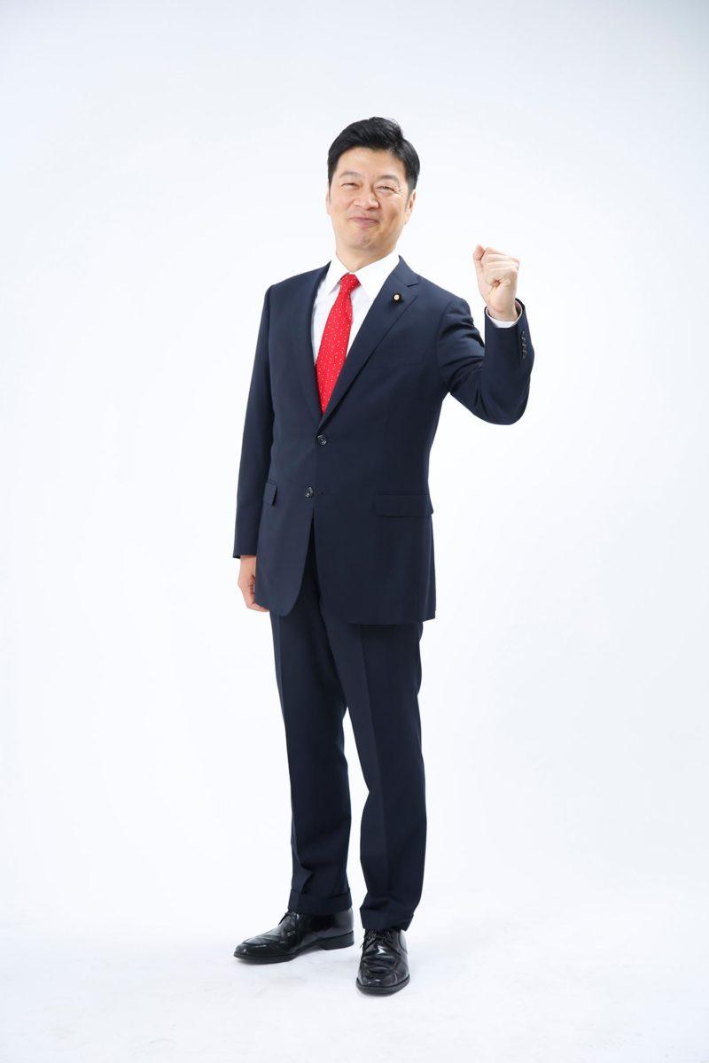 政治家プロフィール写真 選挙ポスター用撮影